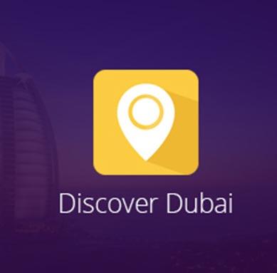 Discover Dubai - Web Design