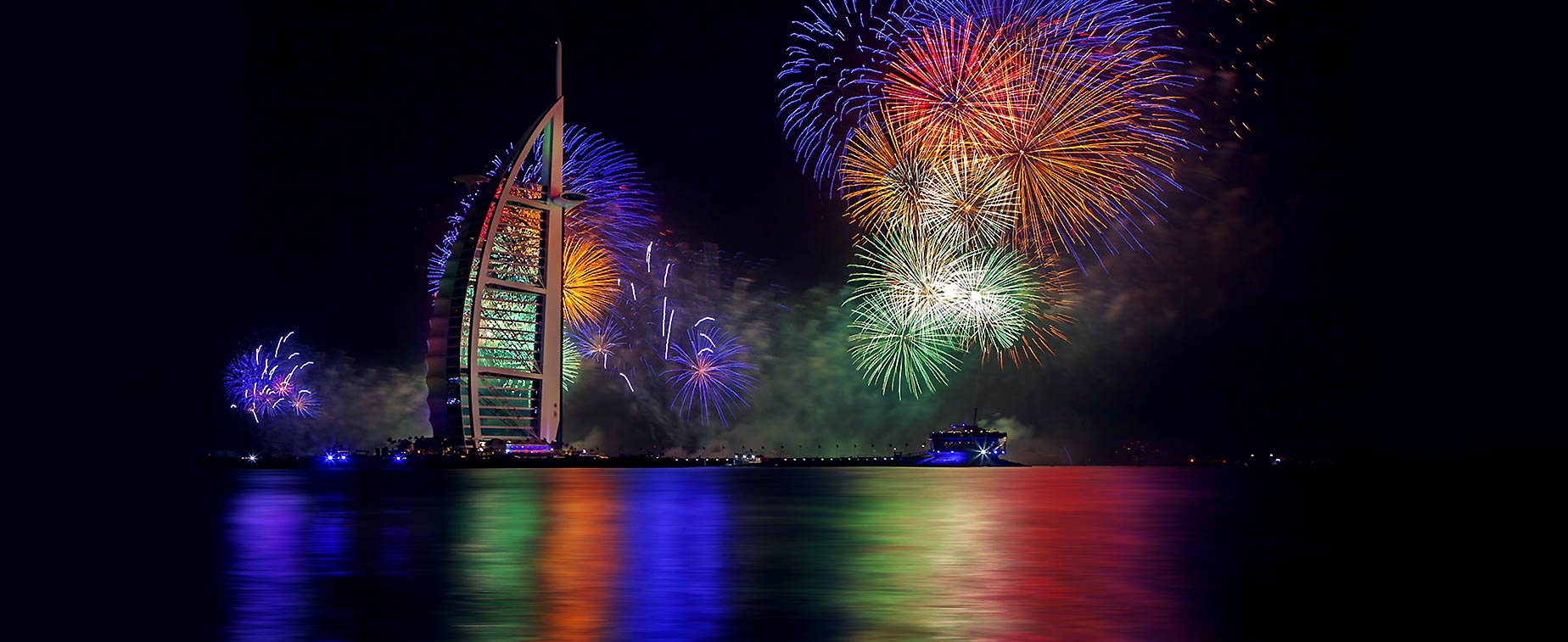 Dubai Leads New Year's Eve